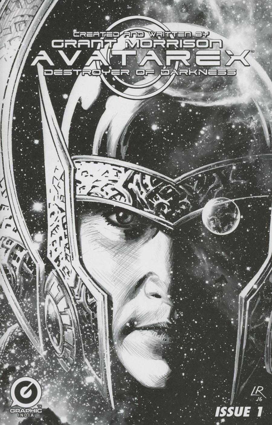 Grant Morrisons Avatarex Destroyer Of Darkness #1 Cover E Variant Luke Ross Ultra-Rare Sketch Cover