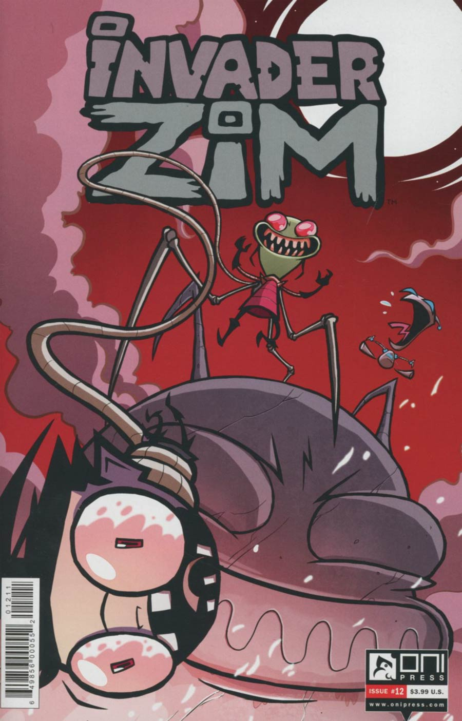Invader Zim #12 Cover A Regular Warren Wucinich Cover