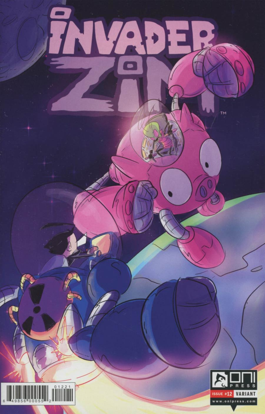 Invader Zim #12 Cover B Variant Rashad Doucet Cover