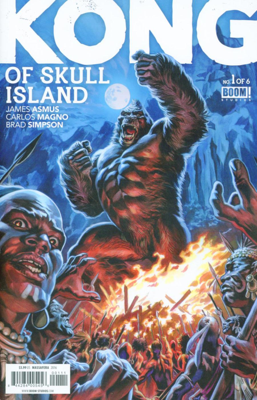 Kong Of Skull Island #1 Cover A Regular Felipe Massafera Cover