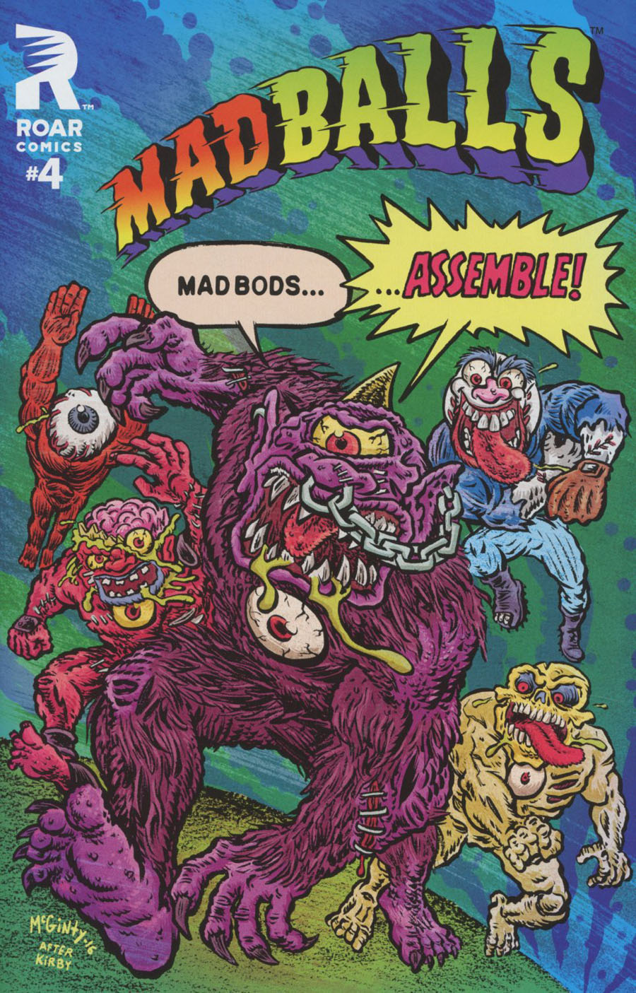 Mad Balls #4 Cover A Regular Brad McGinty Cover