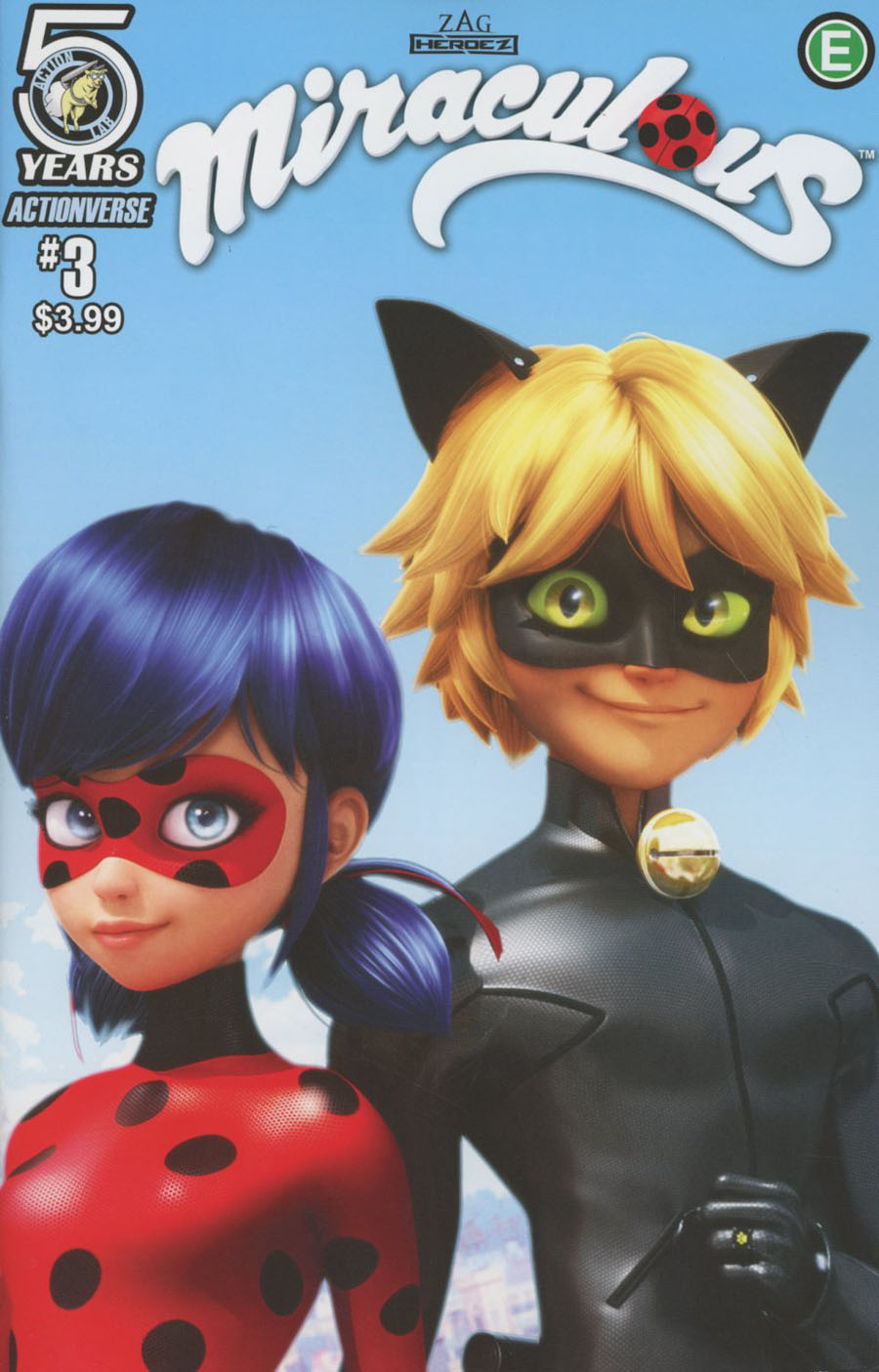 Miraculous #3 Cover A Regular Cover