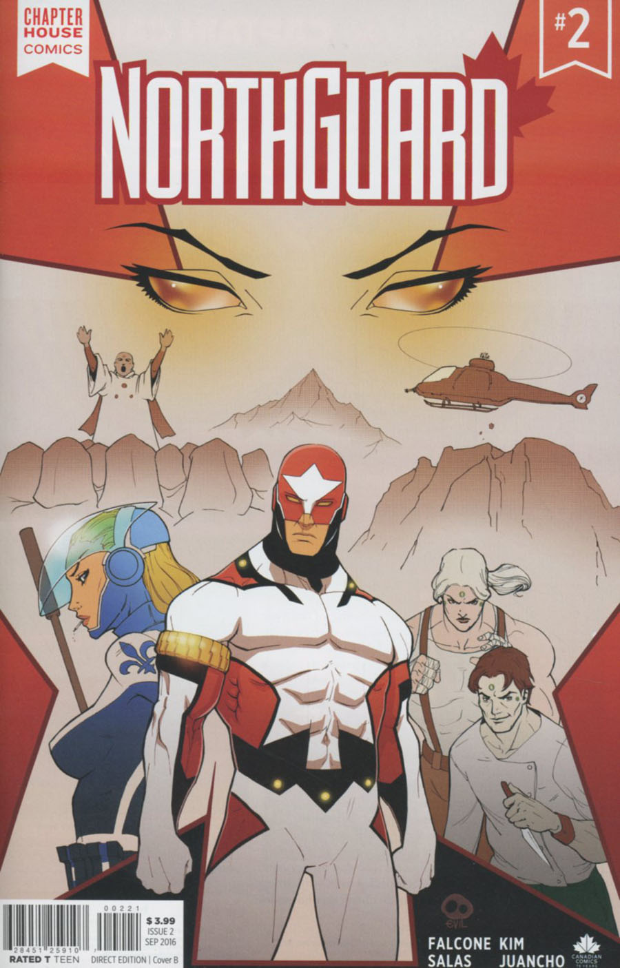 Northguard #2 Cover B Variant Eric Vedder Cover