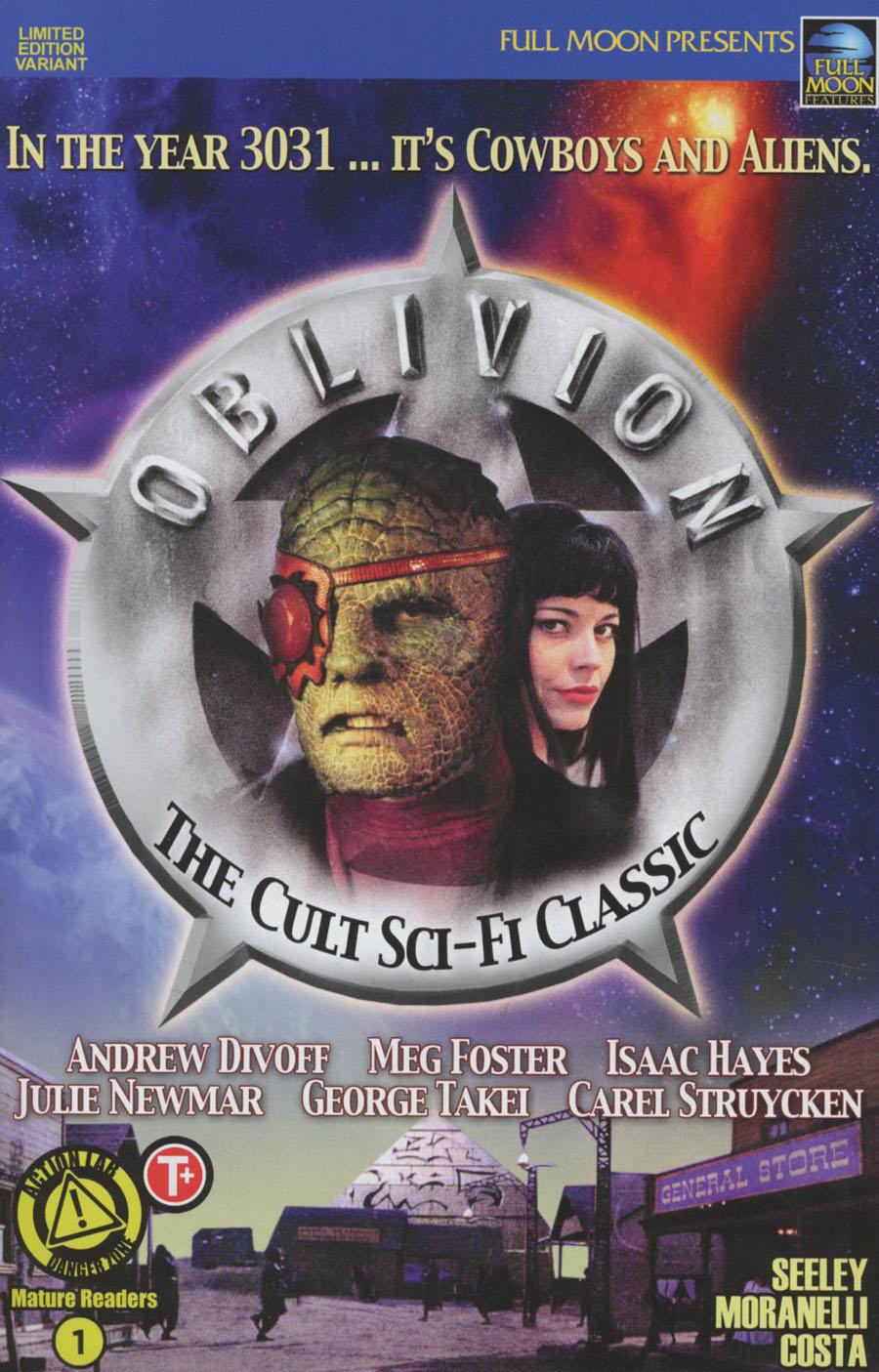 Oblivion #1 Cover E Variant Movie Poster Photo Cover
