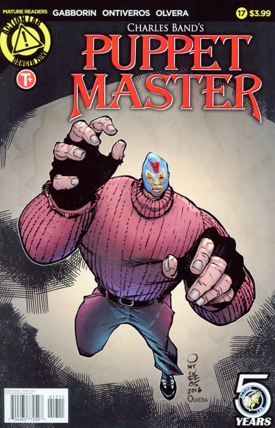 Puppet Master #17 Cover A Regular Antonio Ontiveros Cover