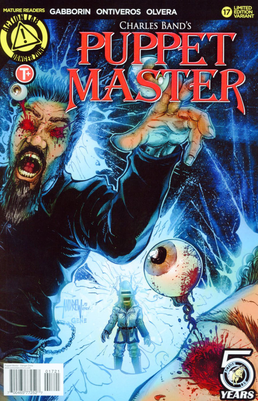 Puppet Master #17 Cover B Variant Andrew Mangum Kill Color Cover