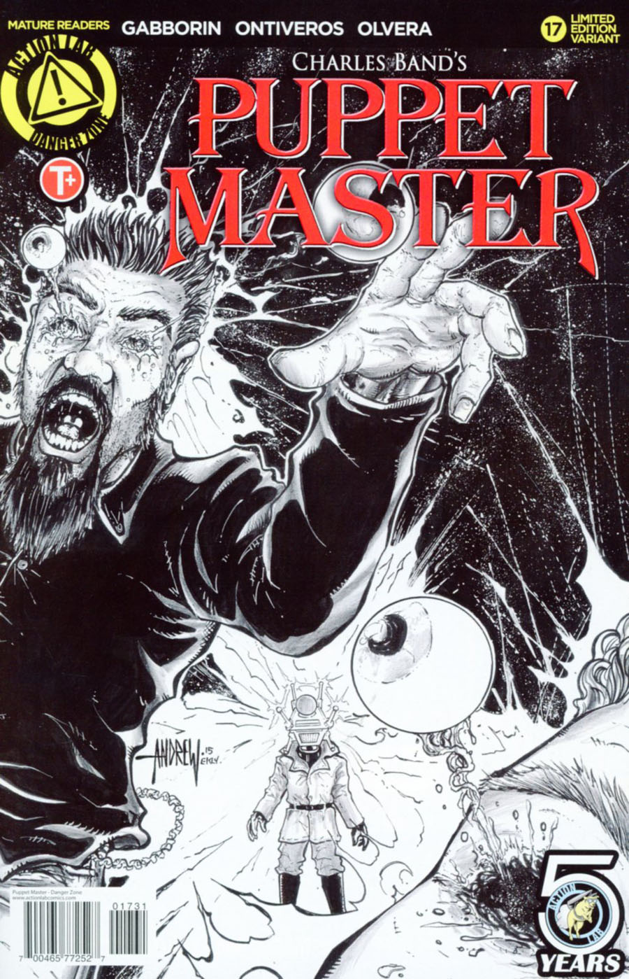 Puppet Master #17 Cover C Variant Andrew Mangum Kill Sketch Cover