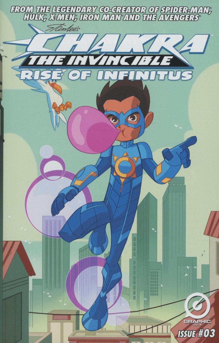 Stan Lees Chakra Rise Of Infinitus #3
