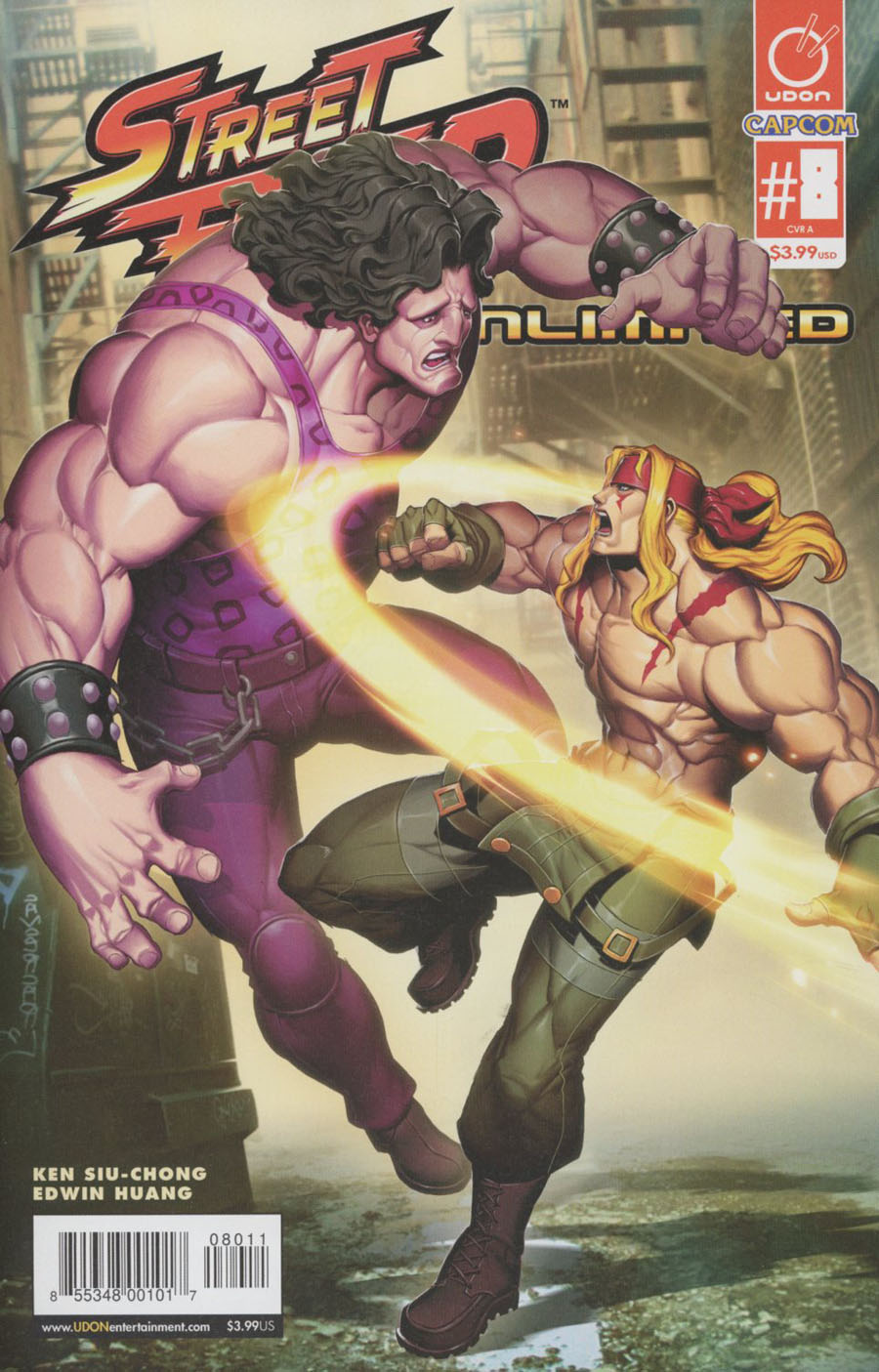 Street Fighter Unlimited #8 Cover A Regular Genzoman Story Cover