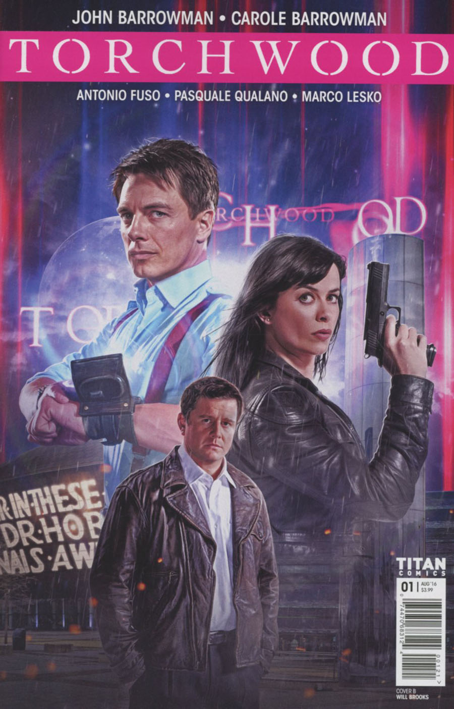 Torchwood Vol 2 #1 Cover B Variant Photo Cover