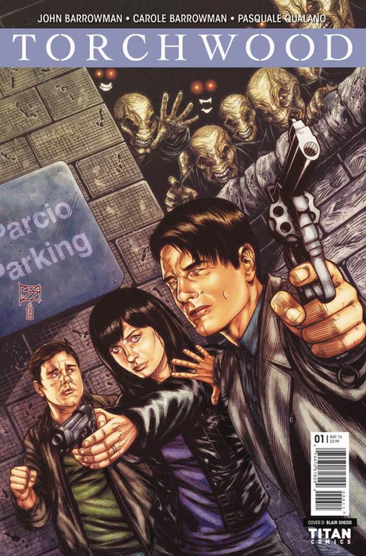 Torchwood Vol 2 #1 Cover D Variant Blair Shedd Cover