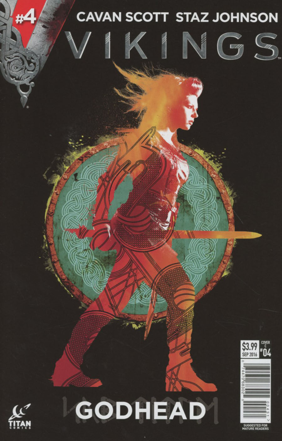 Vikings #4 Cover C Variant Shield Photo Cover