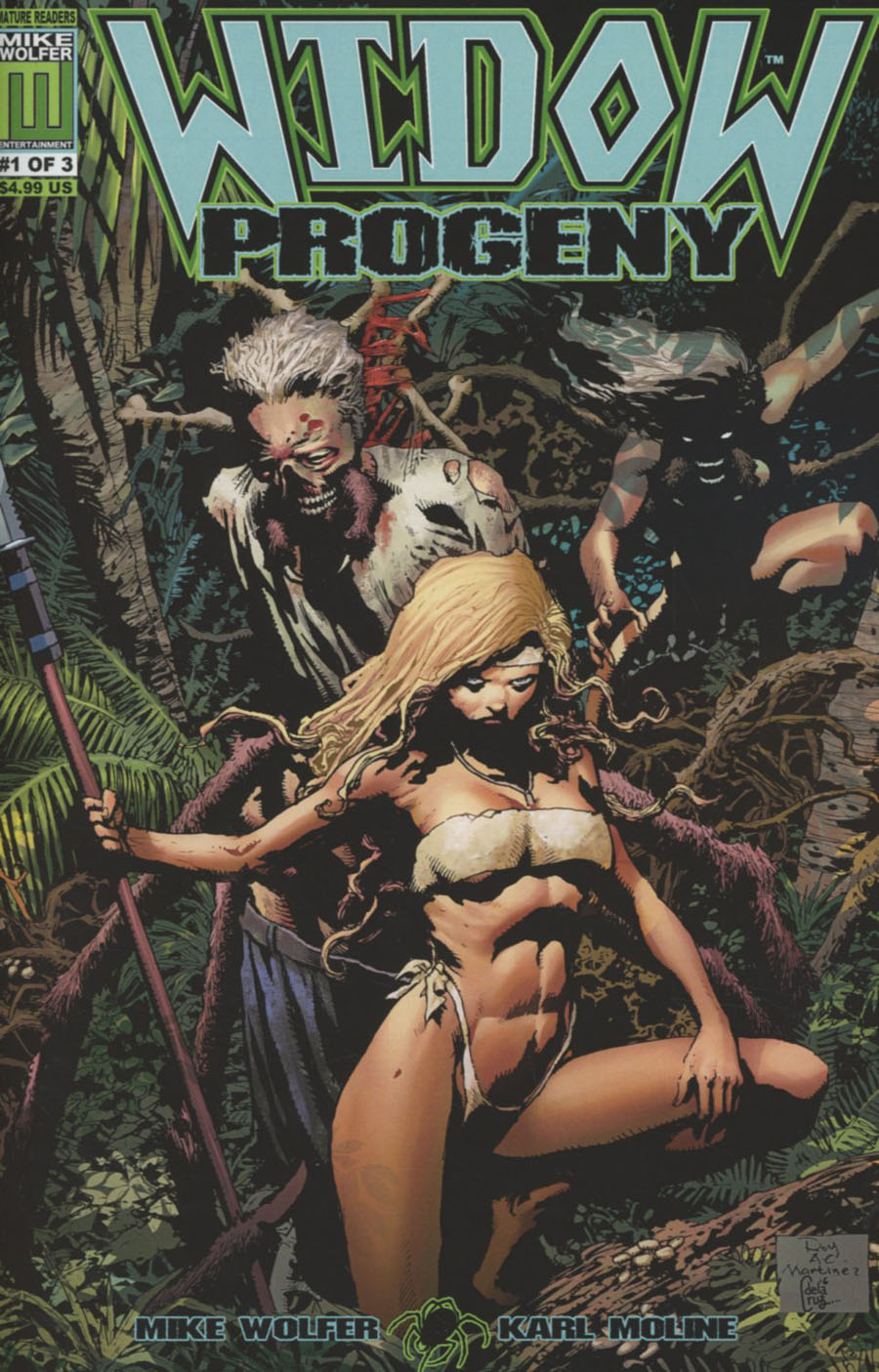 Widow Progeny #1 Cover A Regular Roy Allan Martinez Cover