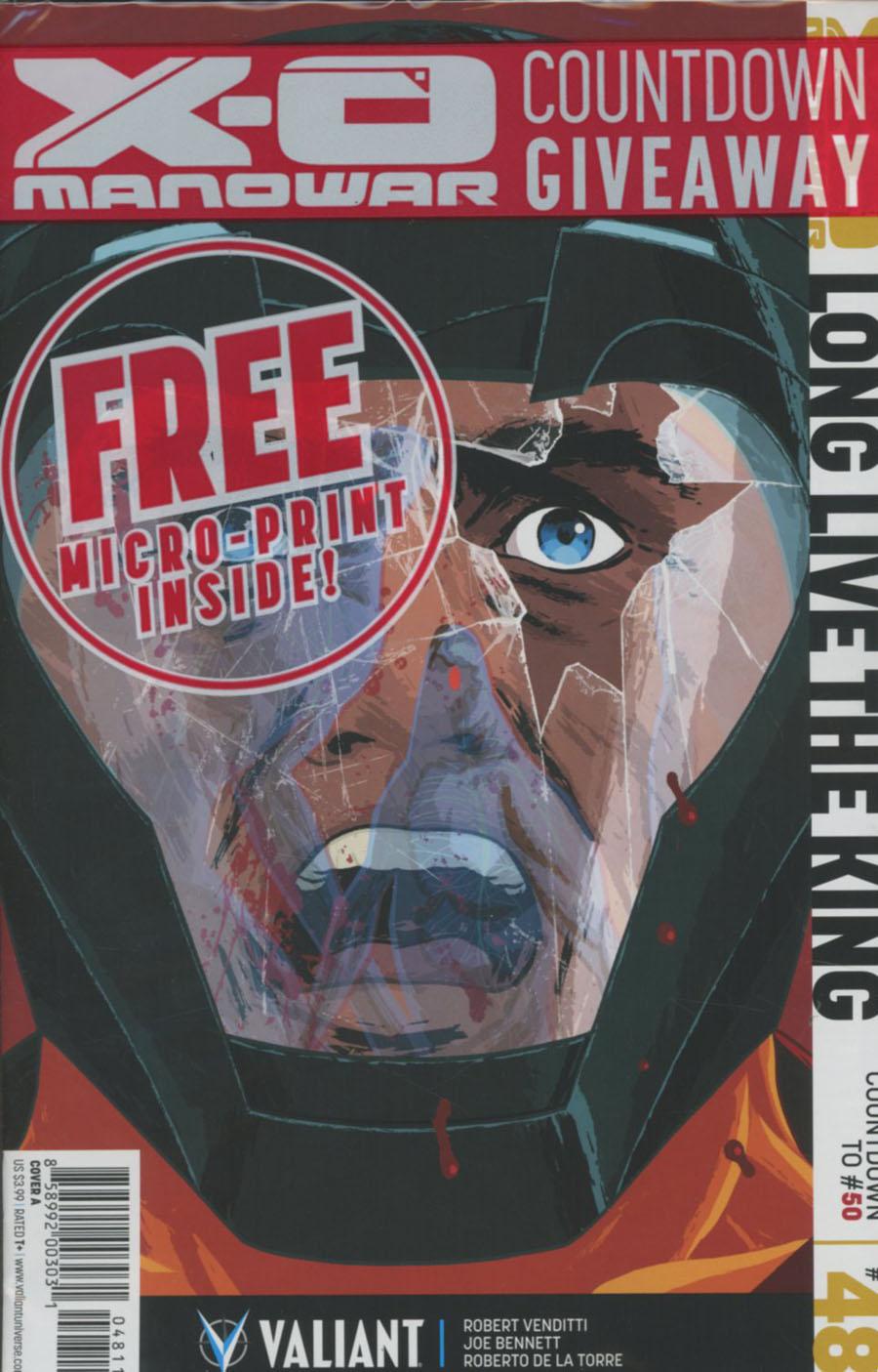 X-O Manowar Vol 3 #48 Cover A Regular Kano Cover