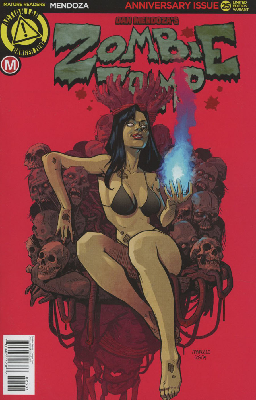 Zombie Tramp Vol 2 #25 Cover C Variant Marcelo Costa Artist Cover