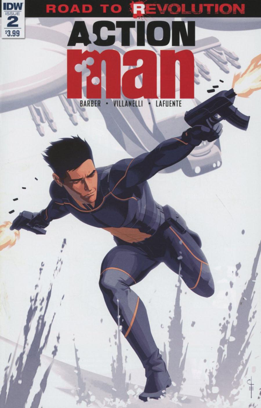 Action Man #2 Cover A Regular Chris Evenhuis Cover