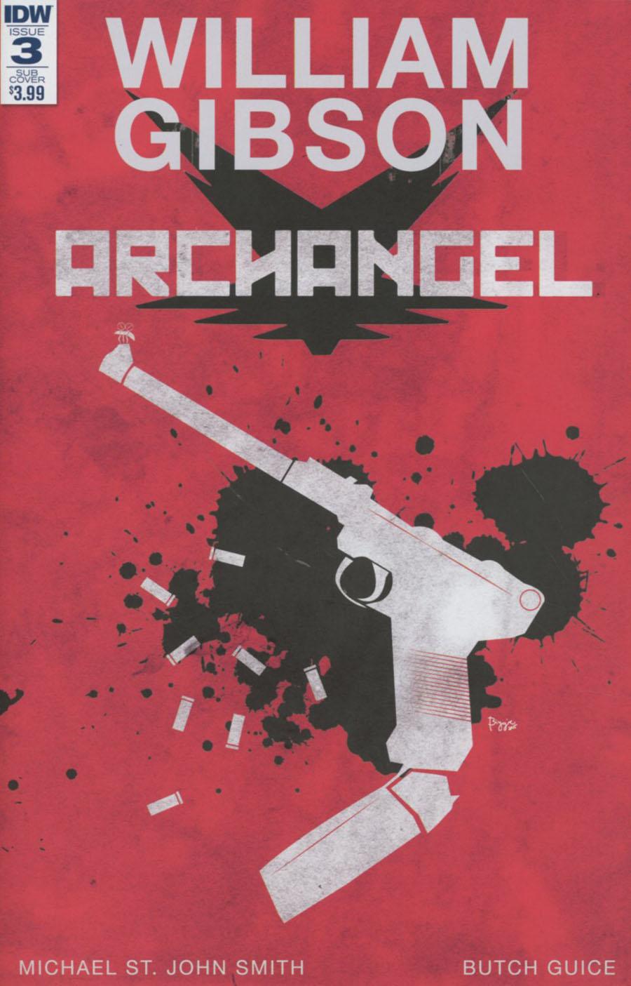 Archangel (IDW) #3 Cover C Variant James Biggie Paperback Subscription Cover