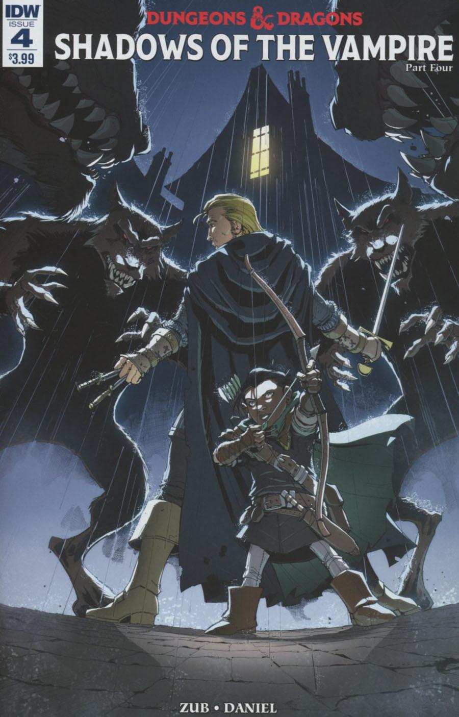 Dungeons & Dragons Vol 2 #4 Cover A Regular Max Dunbar Cover