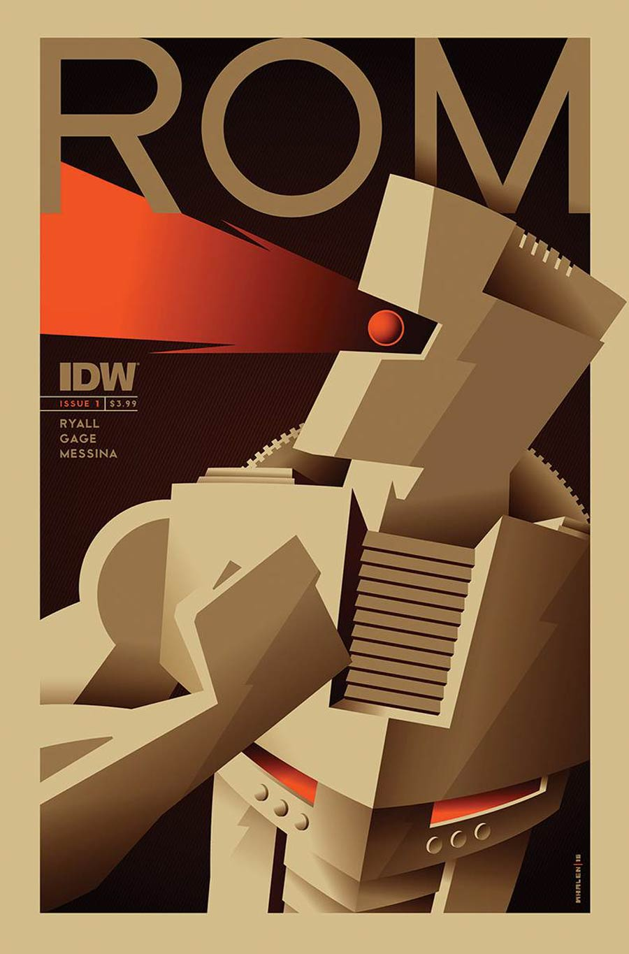 ROM Vol 2 #1 Cover C Variant Tom Whalen Subscription Cover