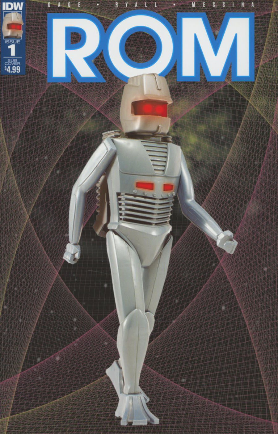 ROM Vol 2 #1 Cover D Variant Classic Toy Photo Subscription Cover