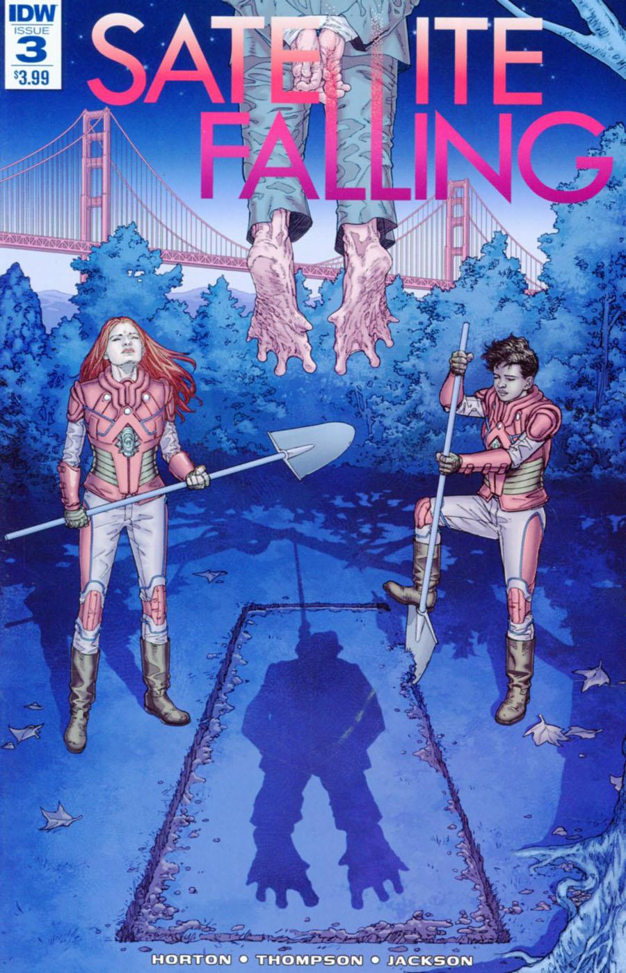 Satellite Falling #3 Cover A Regular Stephen Thompson Cover