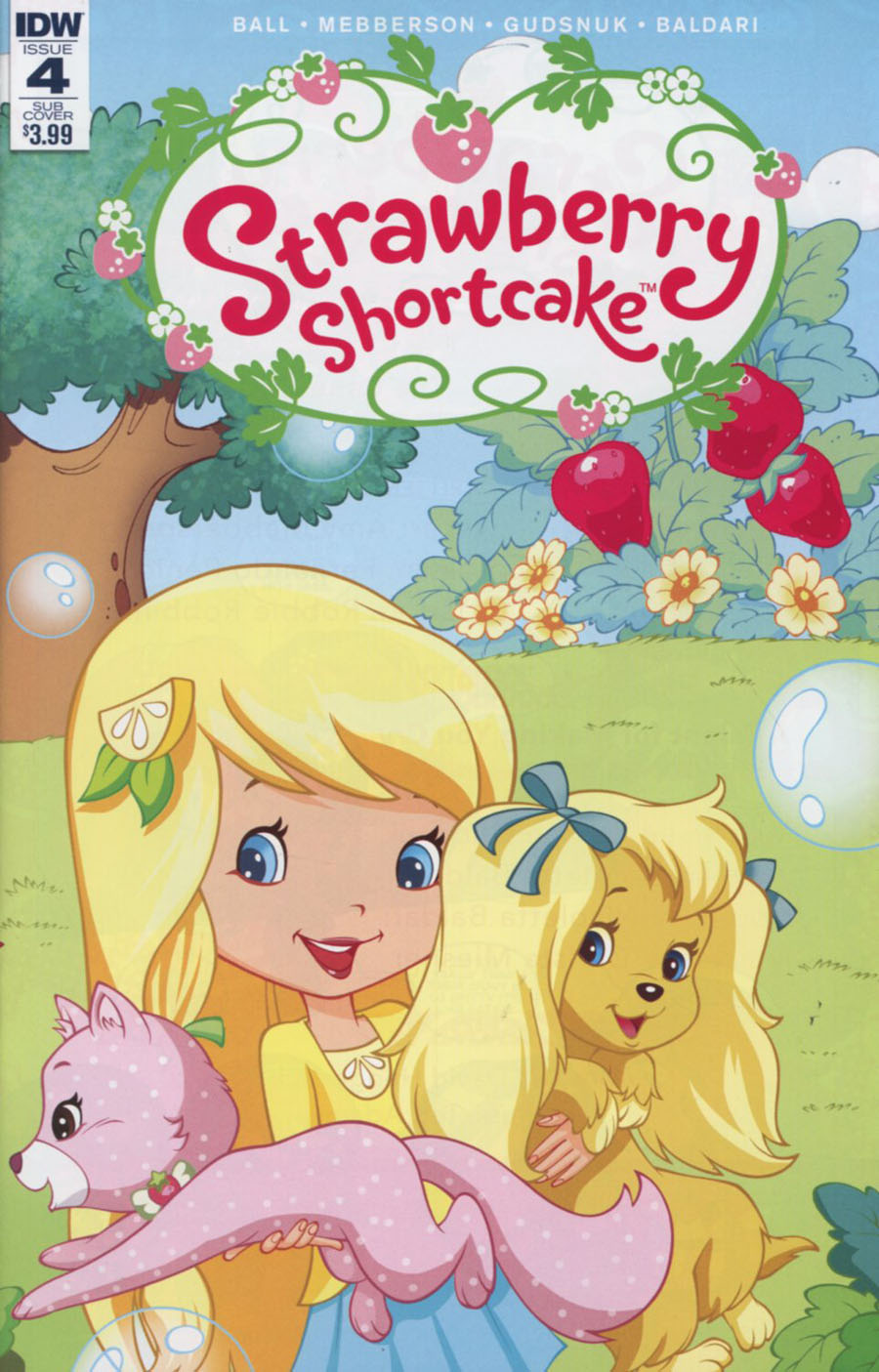Strawberry Shortcake Vol 3 #4 Cover B Variant Tina Francisco Subscription Cover