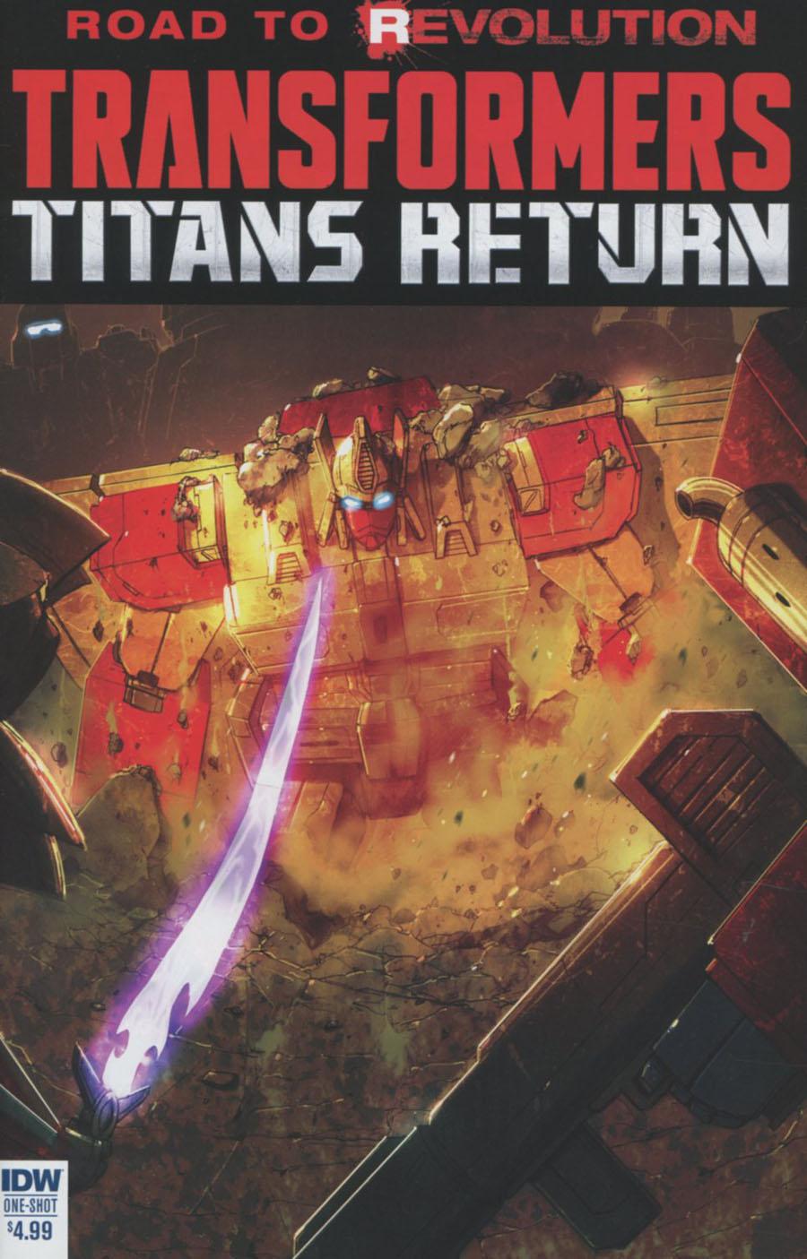 Transformers Titans Return One Shot Cover A Regular Livio Ramondelli Cover