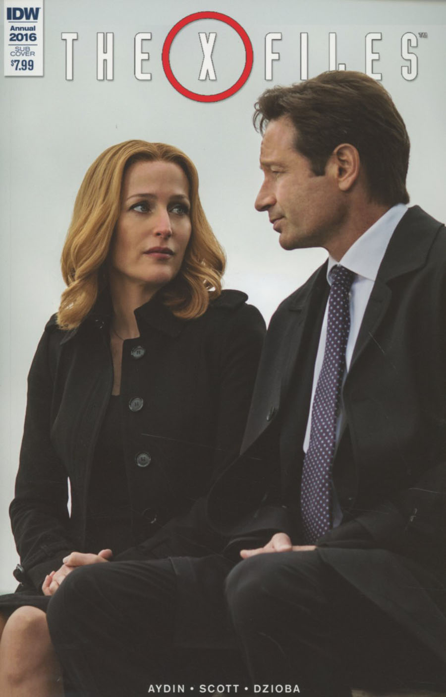 X-Files Annual 2016 Cover B Variant Photo Subscription Cover