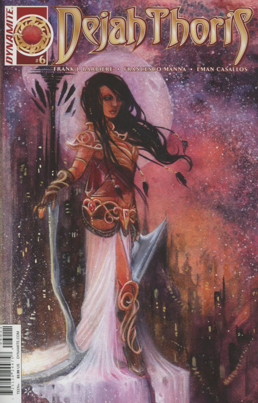 Dejah Thoris #6 Cover A Regular NEN Cover