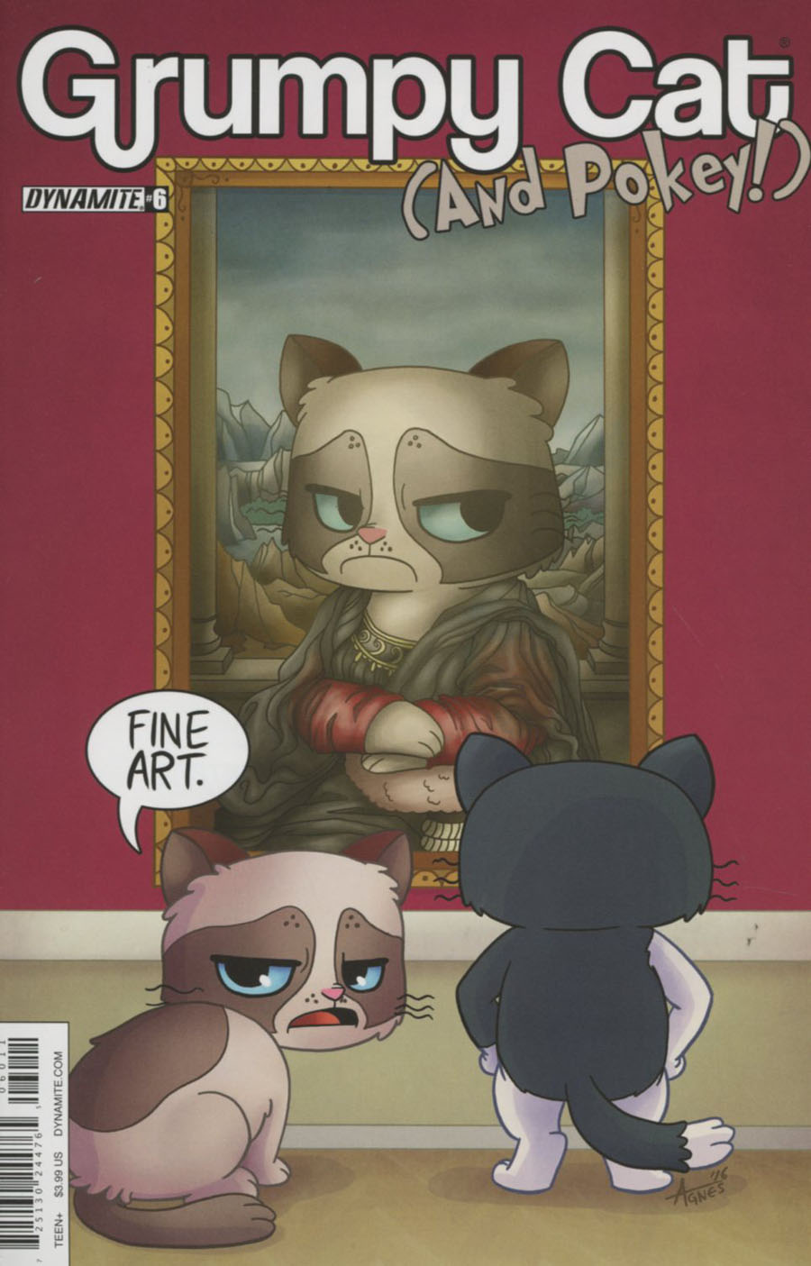 Grumpy Cat & Pokey #6 Cover A Regular Agnes Garbowska Cover
