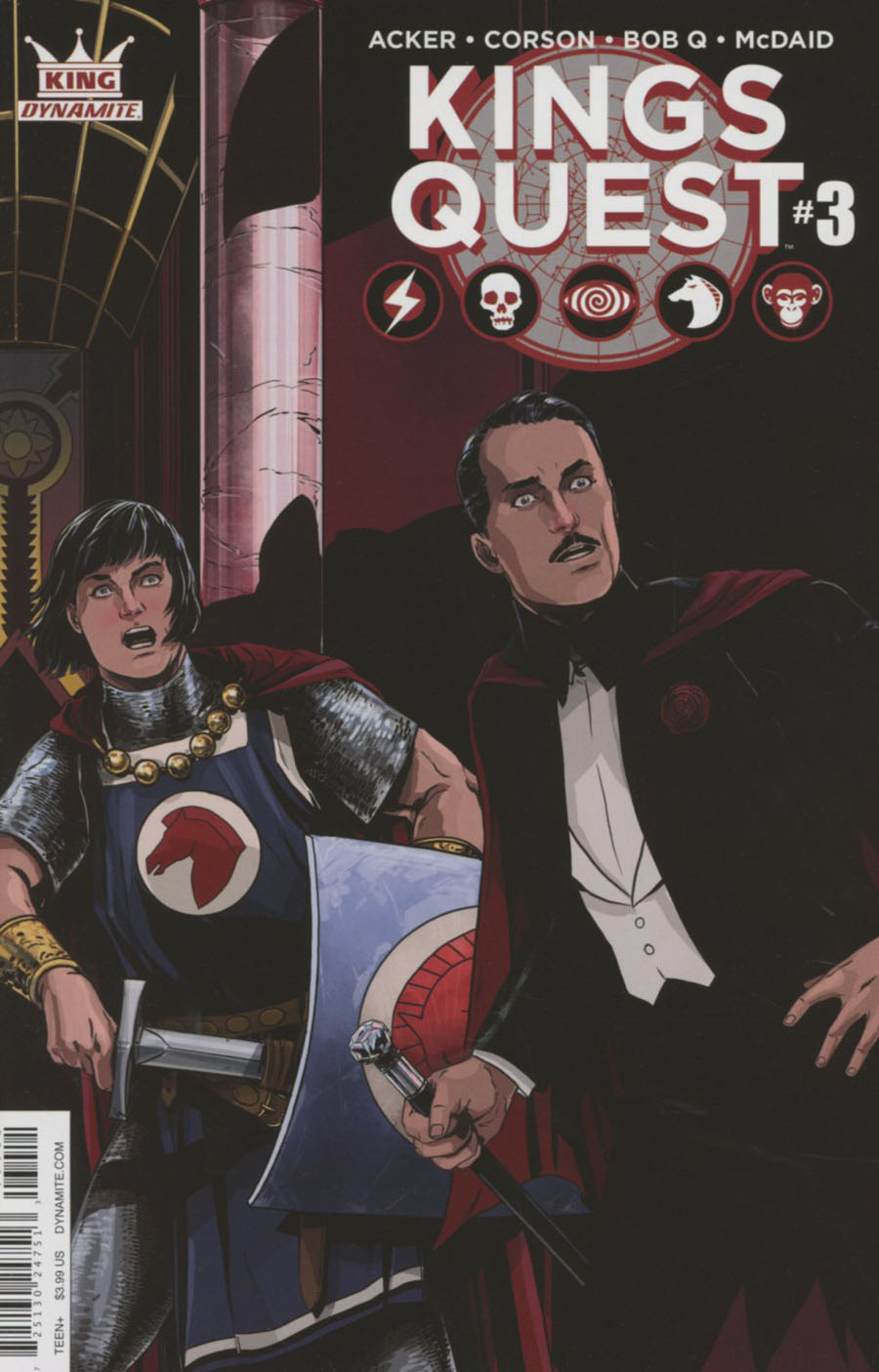 Kings Quest #3 Cover A Regular Marc Laming Cover