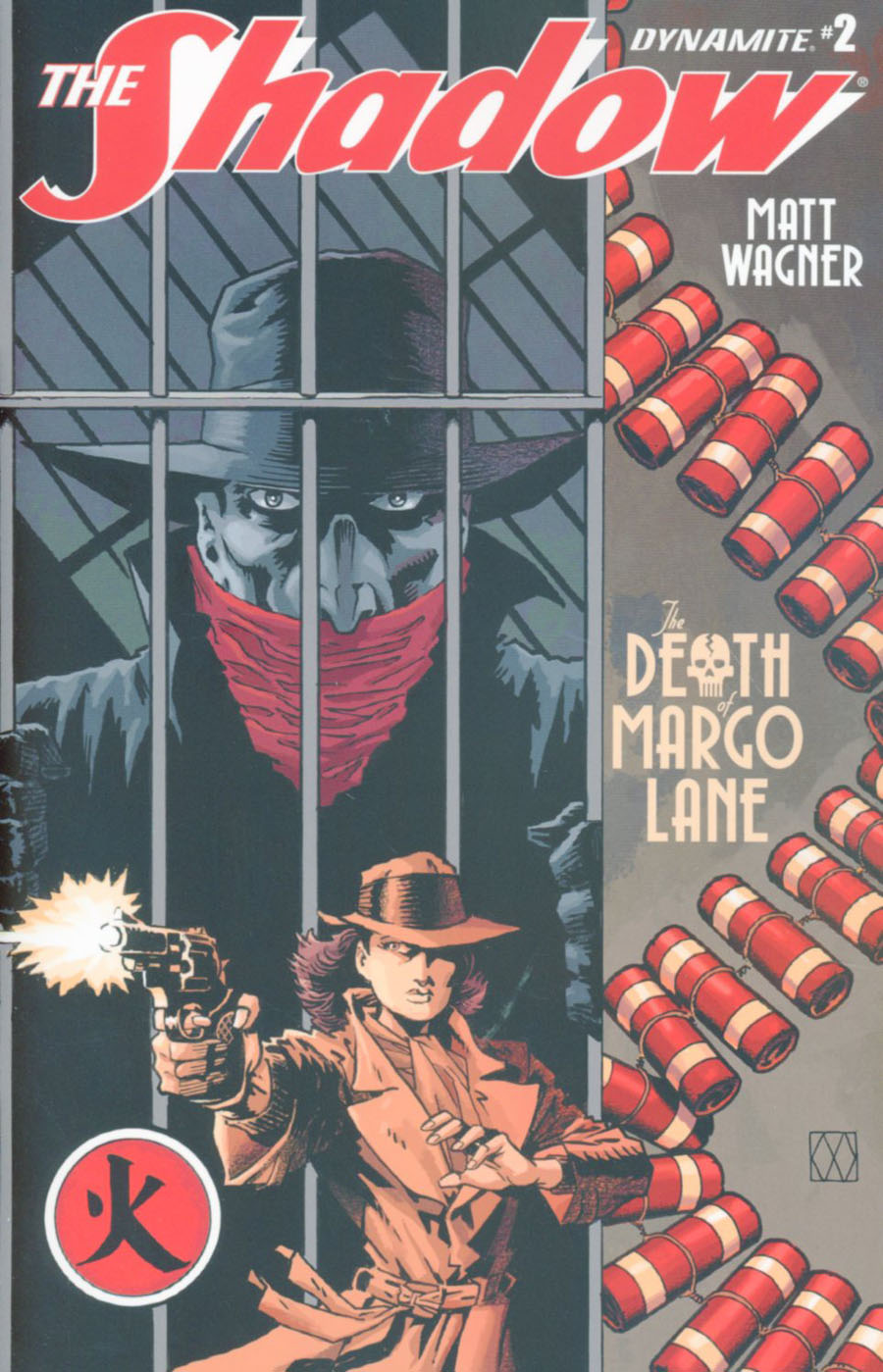 Shadow Death Of Margo Lane #2 Cover A Regular Matt Wagner Cover
