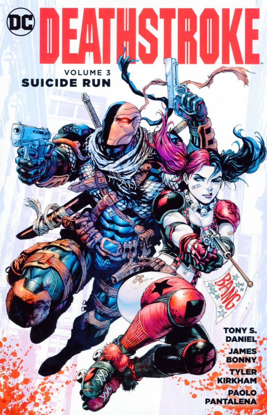 Deathstroke (New 52) Vol 3 Suicide Run TP