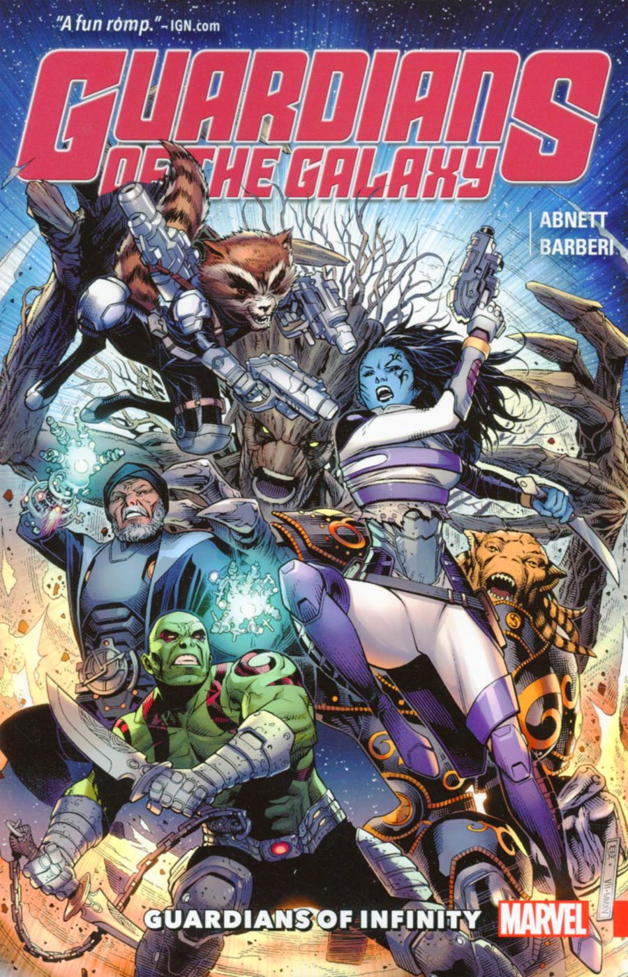 Guardians Of The Galaxy Guardians Of Infinity TP