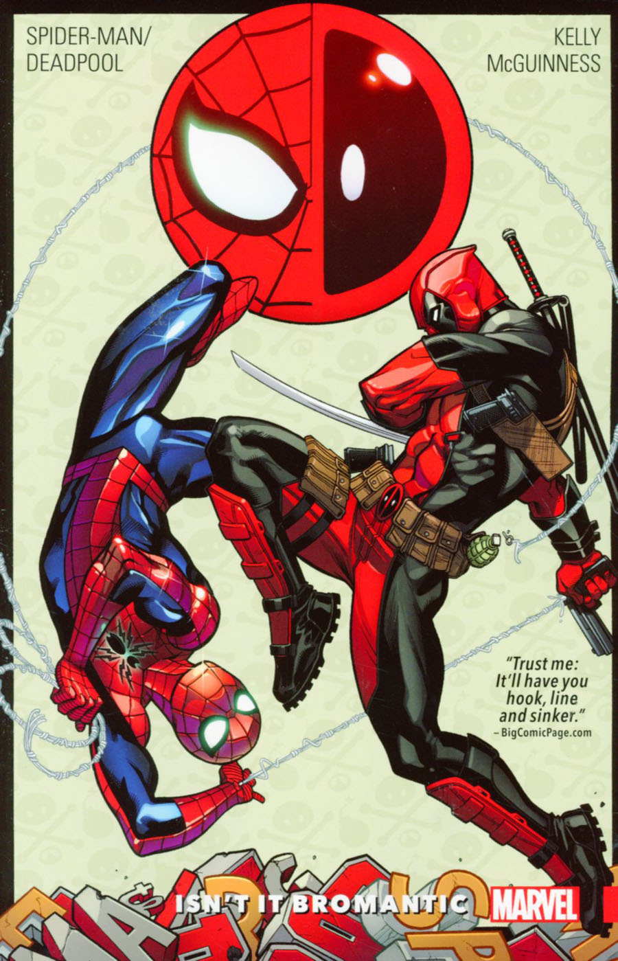 Spider-Man Deadpool Vol 1 Isnt It Bromantic TP