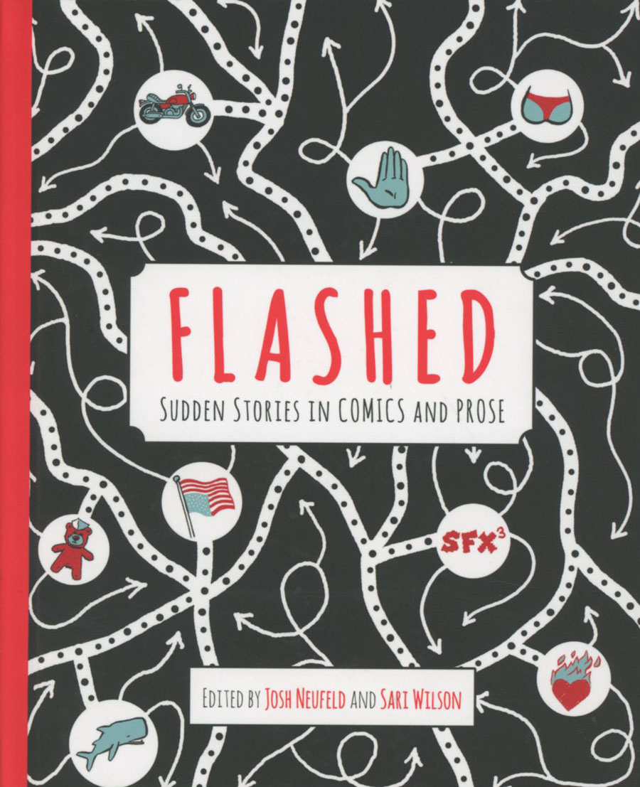 Flashed Sudden Stories In Comics And Prose HC