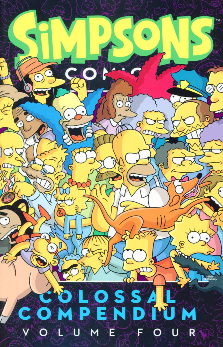 Simpsons Comics Colossal Compendium Vol 4 TP