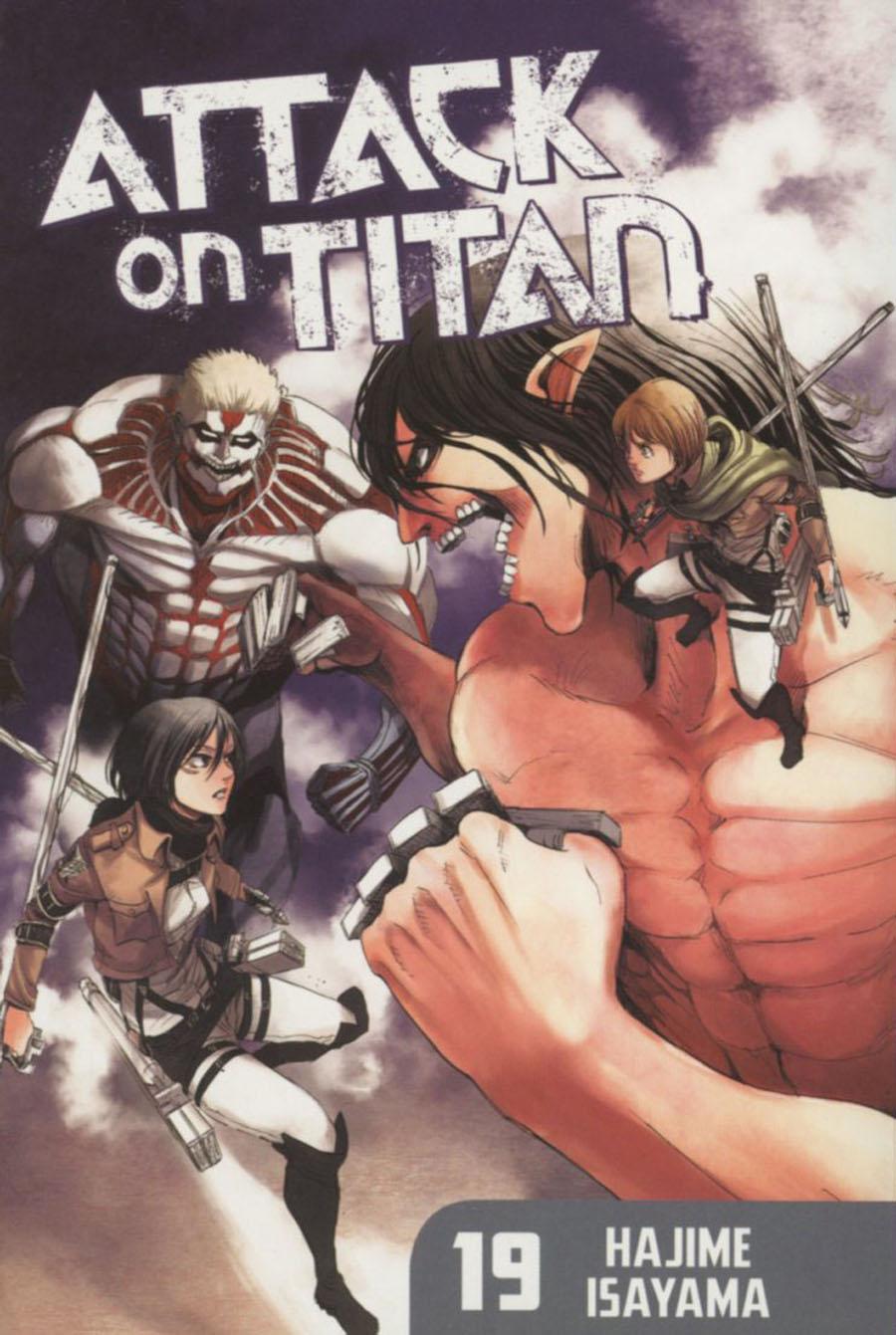 Attack On Titan Vol 19 GN Regular Edition