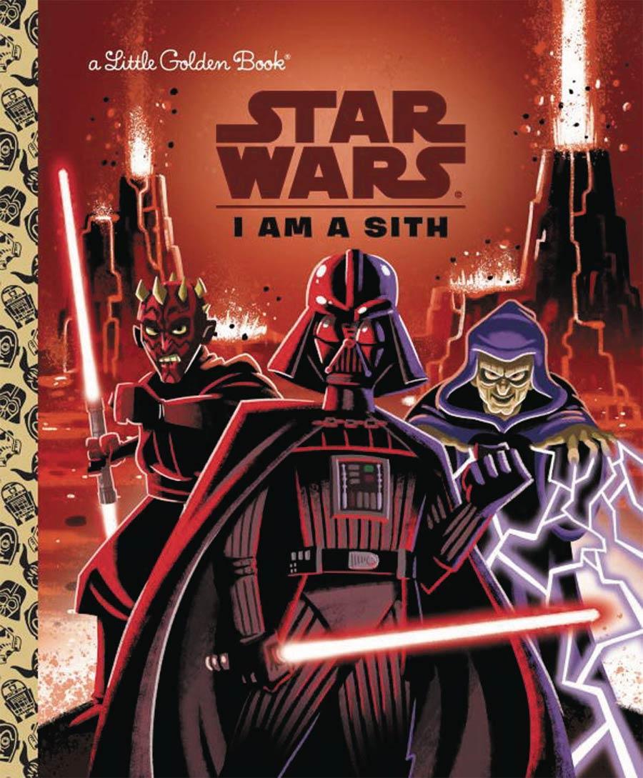 Star Wars Little Golden Book I Am A Sith HC