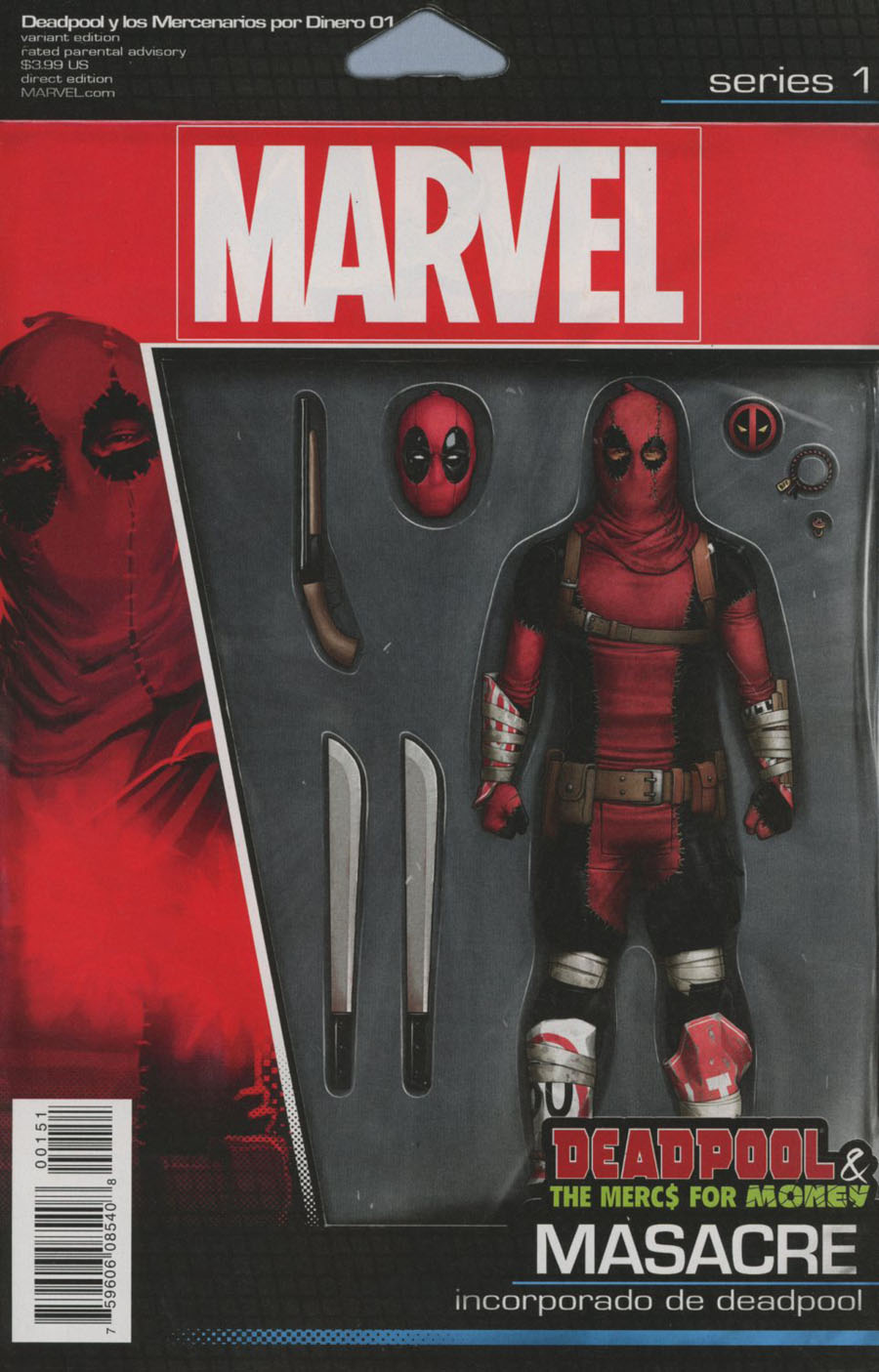Deadpool And The Mercs For Money Vol 2 #1 Cover D Variant John Tyler Christopher Action Figure Cover