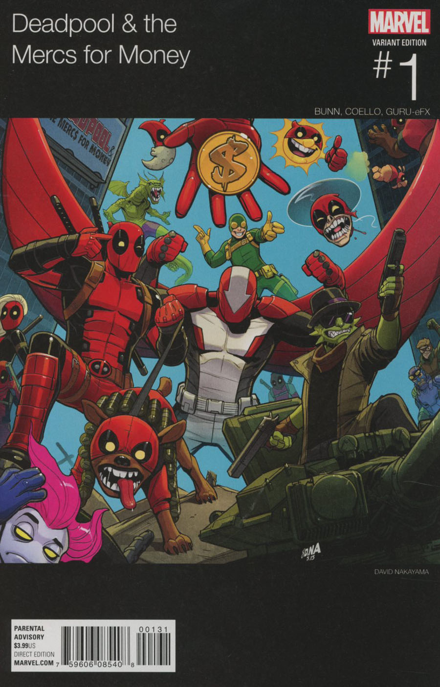Deadpool And The Mercs For Money Vol 2 #1 Cover B Variant Marvel Hip-Hop Cover