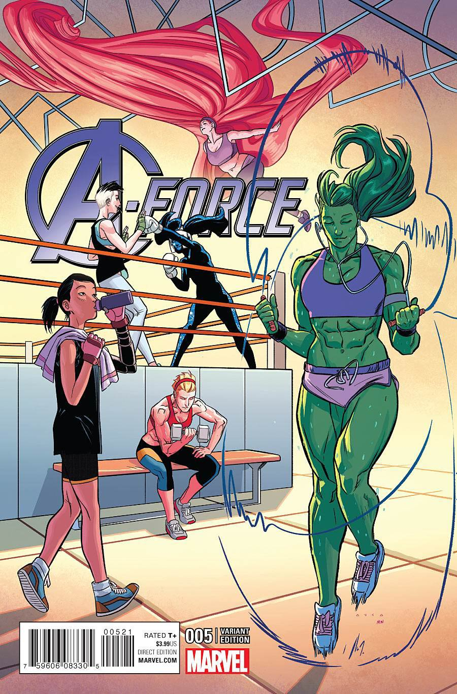 A-Force Vol 2 #5 Cover D Incentive Kris Anka Variant Cover