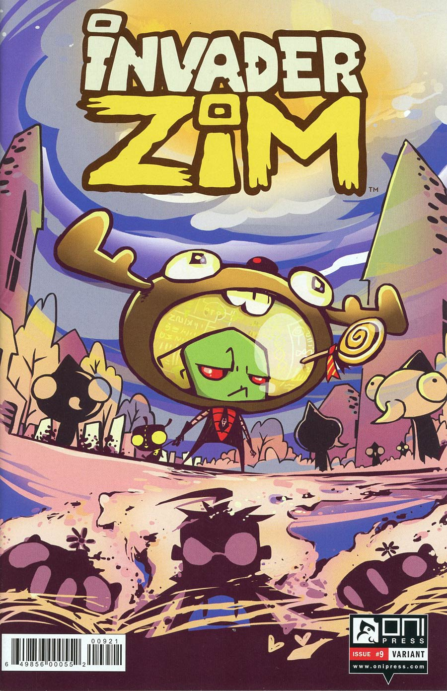 Invader Zim #9 Cover B Variant Cover