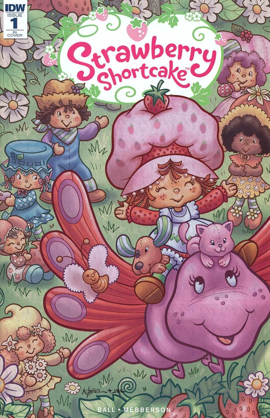 Strawberry Shortcake Vol 3 #1 Cover D Incentive Nico Pena Variant Cover