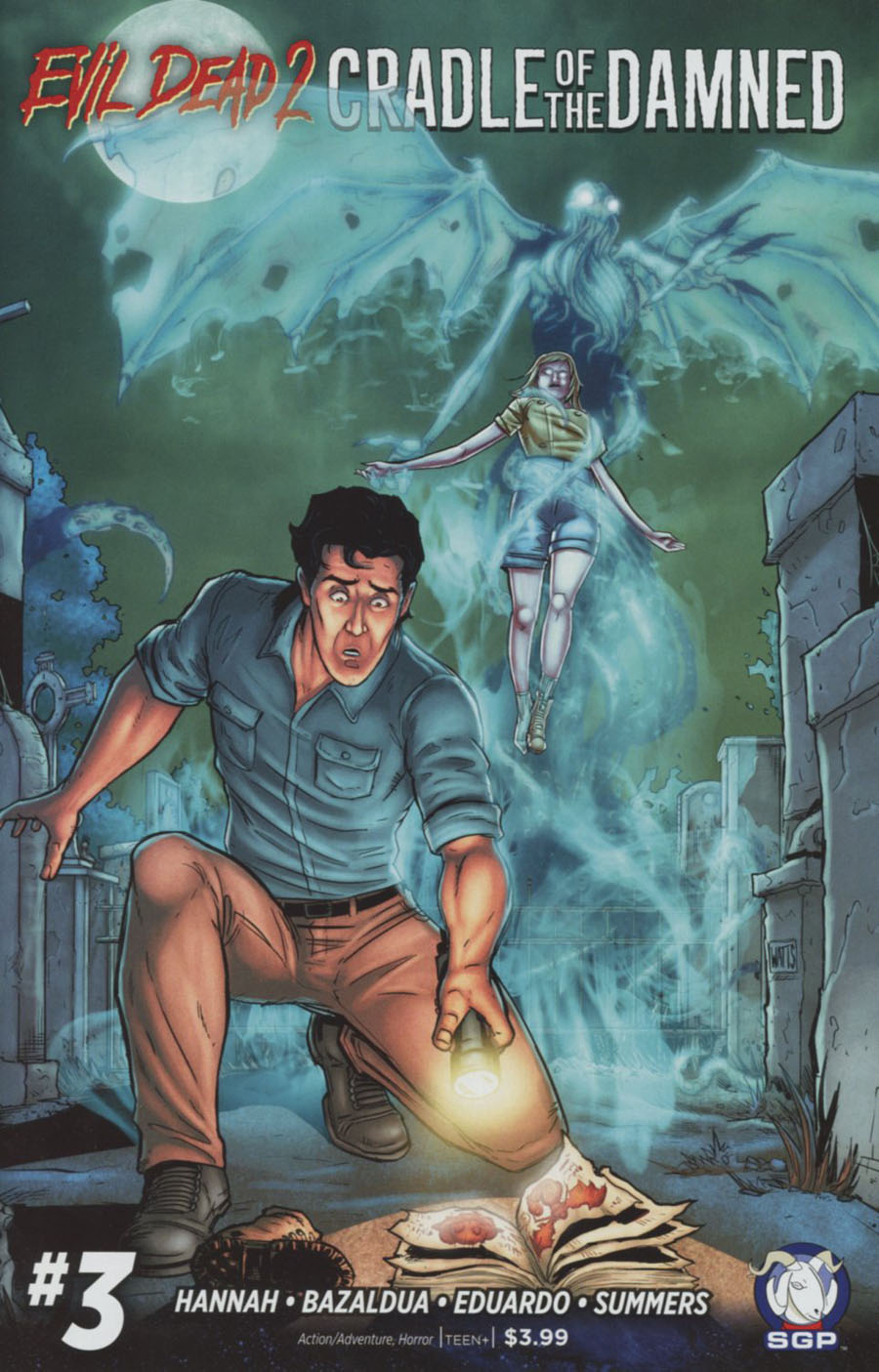 Evil Dead 2 Cradle Of The Damned #3 Cover A Regular Larry Watts Cover