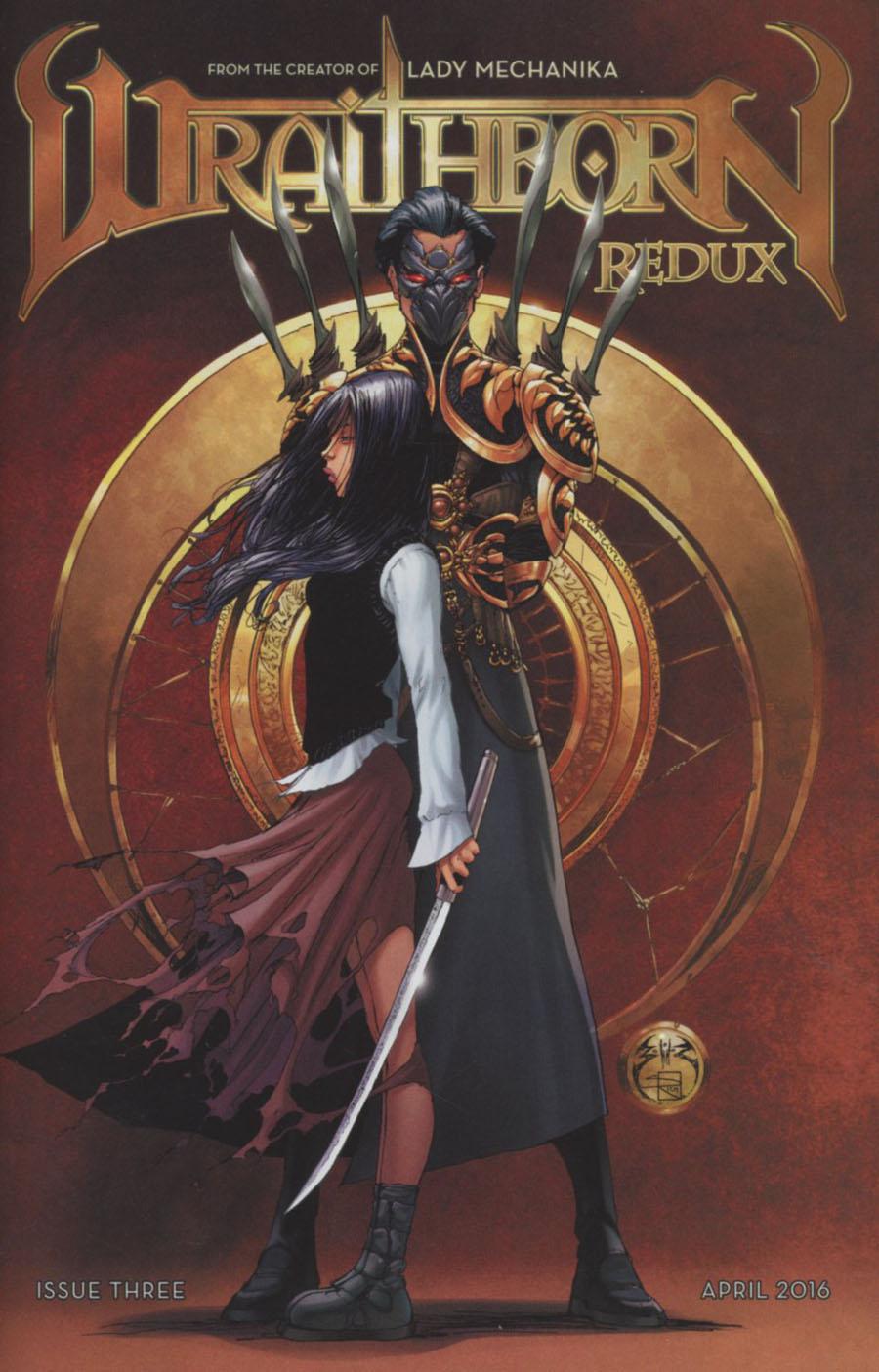 Wraithborn Redux #3 Cover A Regular Joe Benitez & Sabine Rich Cover