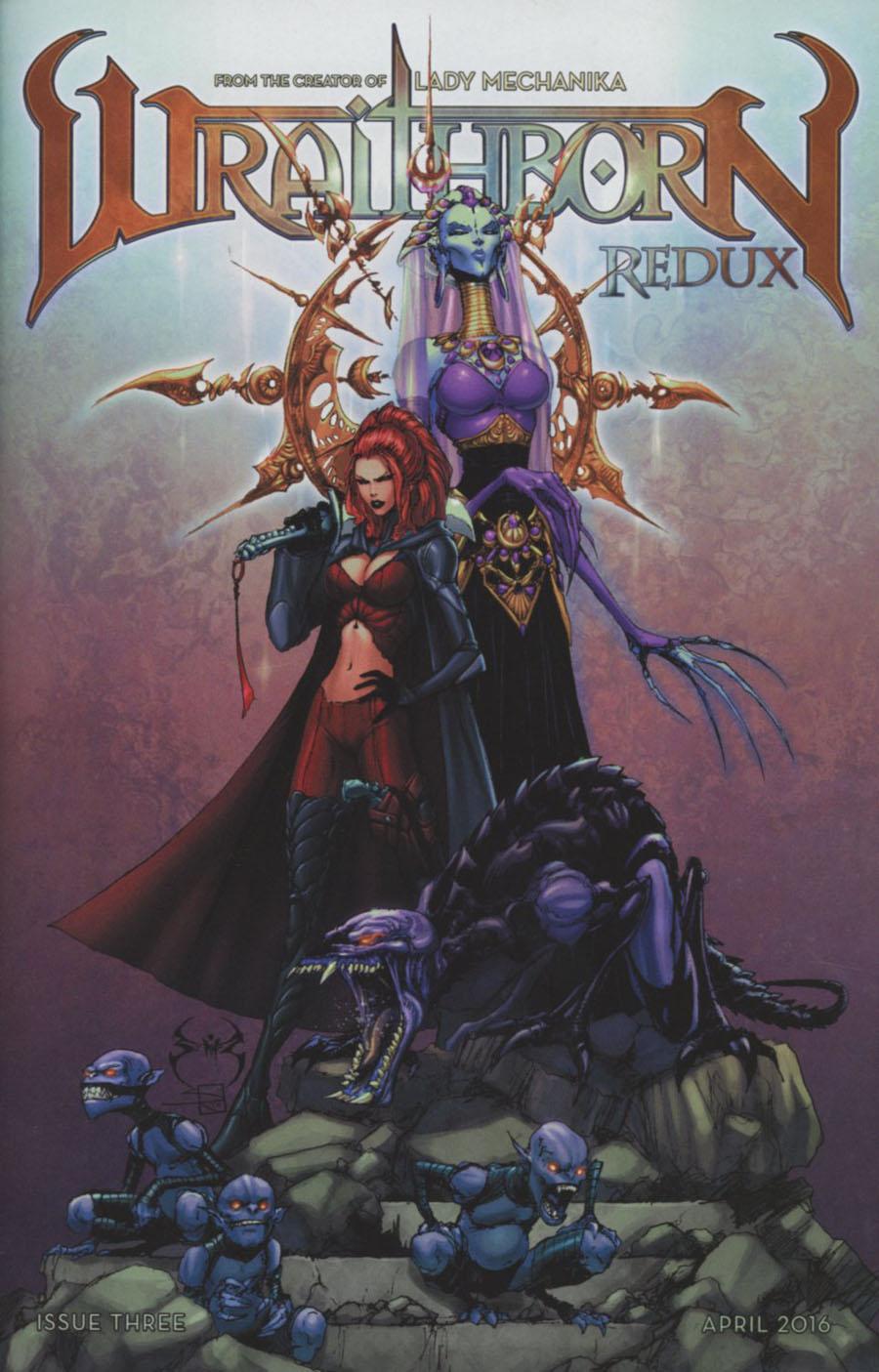 Wraithborn Redux #3 Cover B Regular Joe Benitez Joe Weems & Sabine Rich Cover