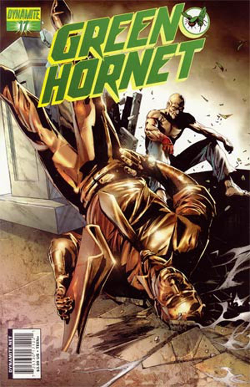 Kevin Smiths Green Hornet #17 Cover B Jonathan Lau