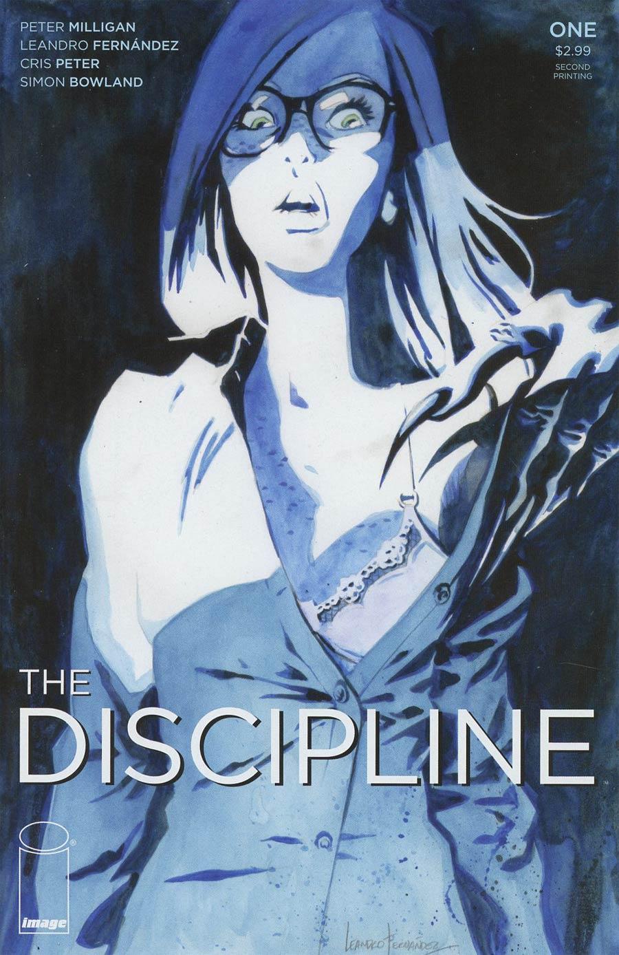 Discipline #1 Cover B 2nd Ptg Leandro Fernandez Variant Cover