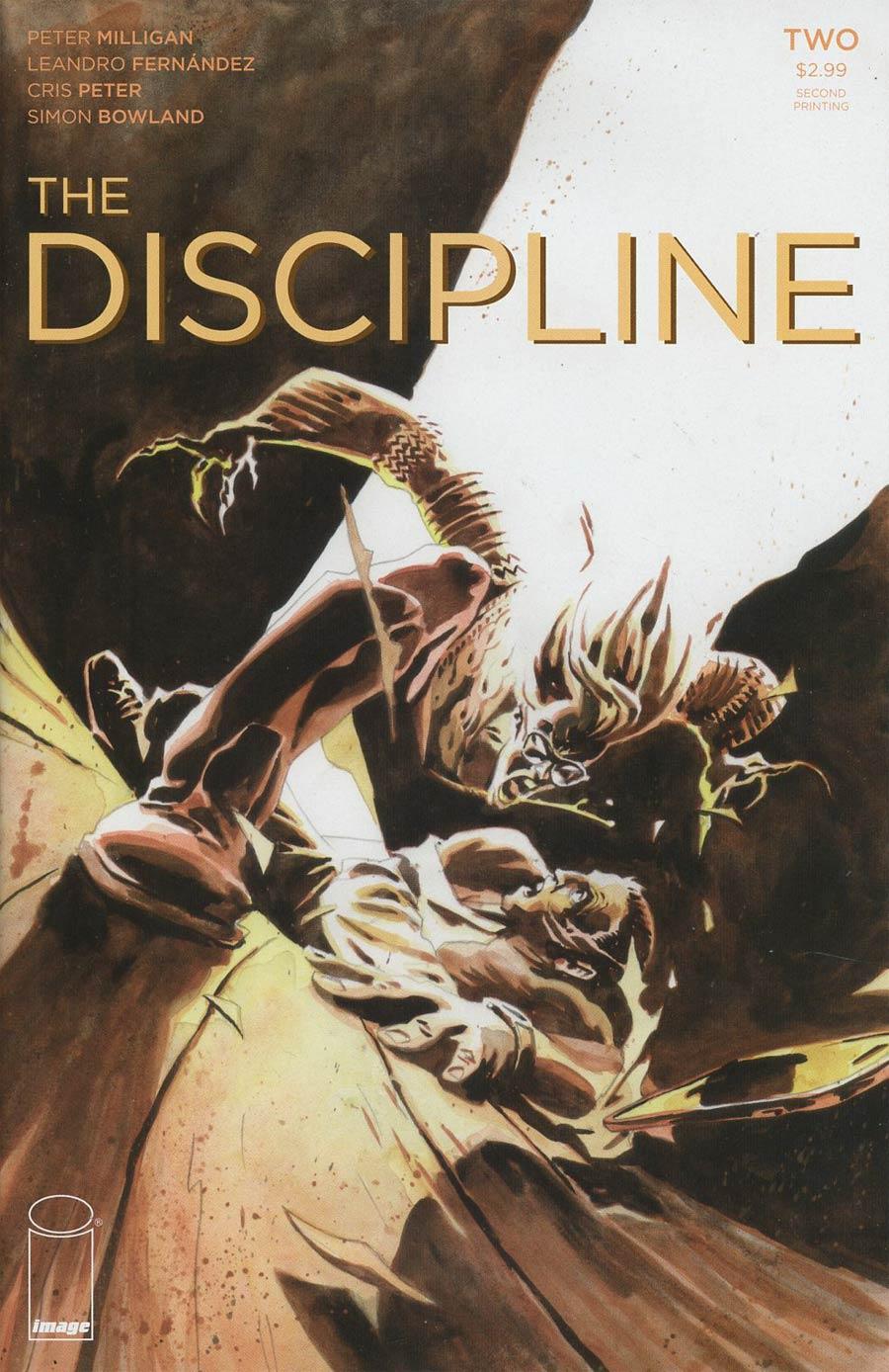 Discipline #2 Cover B 2nd Ptg Leandro Fernandez Variant Cover